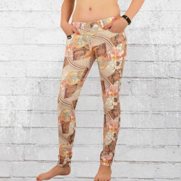 Blue Monkey Damen Jeans Hose Honey comic