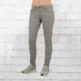 Blue Monkey Womens Jeans Trouser Laura grey blk checkered