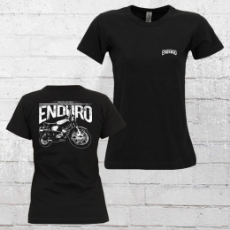 Bordstein Damen T-Shirt S51 Enduro 2 schwarz