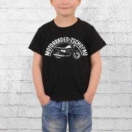 Bordstein ETZ 150 Kinder T-Shirt Motorräder aus Zschopau schwarz