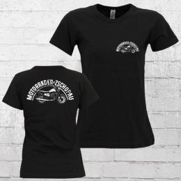 Bordstein Frauen T-Shirt Motorräder aus Zschopau 2 ETZ 150 schwarz