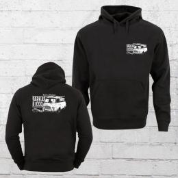 Bordstein Herren Kapuzensweater Barkas B 1000 Lieferwagen 2 schwarz