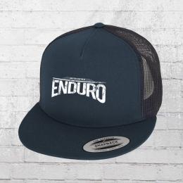 Bordstein Enduro Snapback Trucker Cap blue