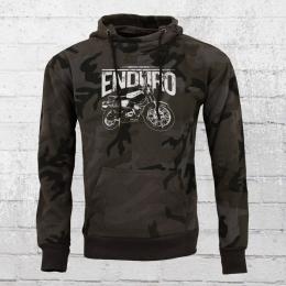 Bordstein Kapuzensweater Enduro Camo Hoody schwarz
