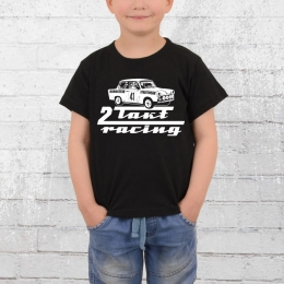 Bordstein Kinder T-Shirt 2-Takt-Racing schwarz