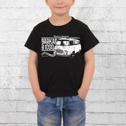 Bordstein Kinder T-Shirt B1000 Lieferwagen schwarz