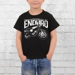 Bordstein Kinder T-Shirt S51 Enduro schwarz