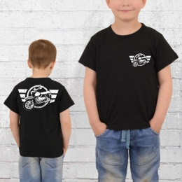 Bordstein Kinder T-Shirt Star 2 schwarz