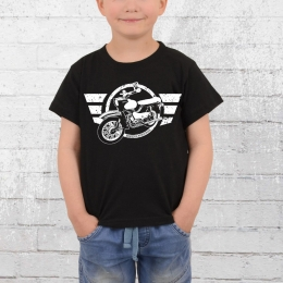 Bordstein Kinder T-Shirt Star schwarz