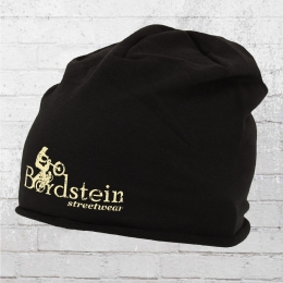 Bordstein Logo Beanie Schwarz