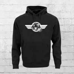 Bordstein Männer Kapuzen Sweater SR 2 Hoody schwarz
