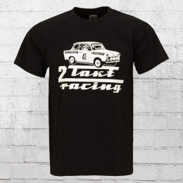 Bordstein Männer T-Shirt 2-Takt Racing schwarz