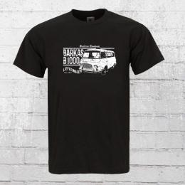 Bordstein Mens T-Shirt B1000 Delivery Van Bus black