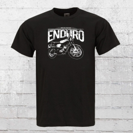 Bordstein Mens T-Shirt S51 Enduro black
