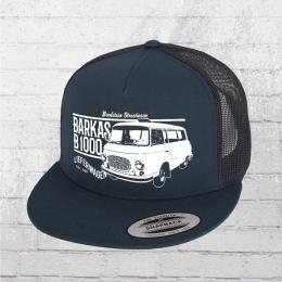 Bordstein Mütze B1000 Lieferwagen Trucker Cap blau