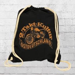 Bordstein Rucksack 2 Takt Kultur ETZ 250 Gym Bag schwarz