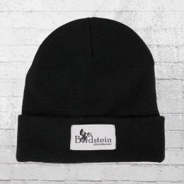 Bordstein Streetwear Label Beanie Classic black