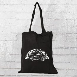 Bordstein Streetwear Motorräder aus Zschopau Stoffbeutel schwarz