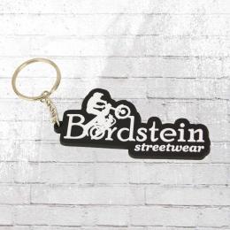 Bordstein Streetwear Schlüsselanhänger Klassisch schwarz
