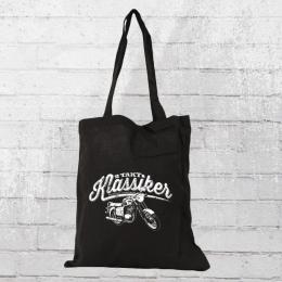Bordstein Streetwear Stoffbeutel 2-Takt Klassiker TS150 schwarz