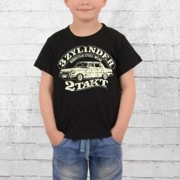 Bordstein WB353 Kinder T-Shirt 3 Zylinder Zweitakt schwarz