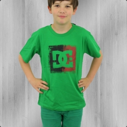 DC Shoes Kinder T-Shirt Box Office Boys Tee emerald green