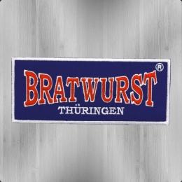 Bratwurst Thüringen Aufnäher Patch