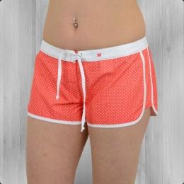 Billabong Damen Badehose Cacy Shorts red hot dots