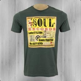 Merc London T-Shirt Männer Caswell dunkelgrün