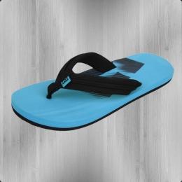DC Shoes Kinder Zehentrenner Badeschlappen Central black turquoise