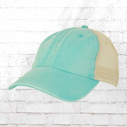 Comfort Colors Tea Dyed Trucker Cap türkis blau