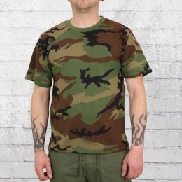Commando Herren T-Shirt camouflage