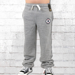 Converse All Star Kinder Jogginghose CT Core Pants grau melange