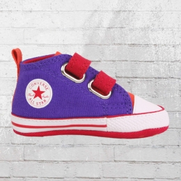 Converse Baby Schuhe Chuck Taylor First Star Velcro periwinkle