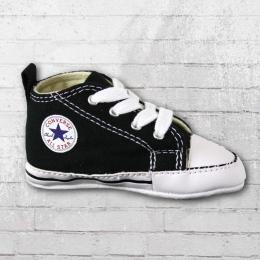 Converse Baby Schuhe First Star schwarz weiss