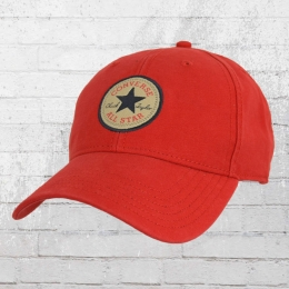 Converse Baseball Kappe Tip Off Cap Core rot