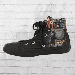 Converse Batman Comic Chucks Kinder Schuhe schwarz