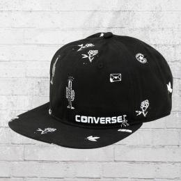 Converse Cap Sketchbook Deconsmucked schwarz