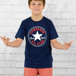 Converse Chuck Patch Kinder T-Shirt Kids T navy