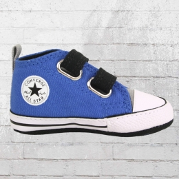 Converse Chucks First Star 2V Baby Schuhe blau