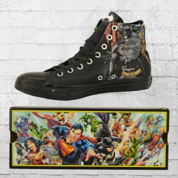 ea2f2f08ed1c Converse Comic Chucks Batman CT High 161305 C Unisex Shoes black
