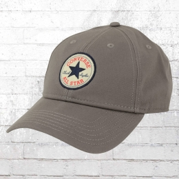 Converse Core Baseball Kappe Tip Off Twill Cap grau