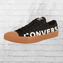 Converse Flache Sneaker Chucks CT AS OX Schuhe schwarz braun