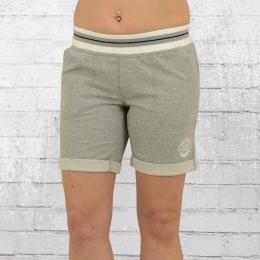 Converse Frauen Shorts Jogginghose Core Plus Short grau meliert