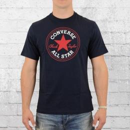 Converse Herren T-Shirt Core Chuck Patch dunkel blau