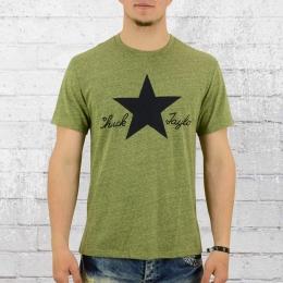 Converse Herren T-Shirt CTATS ll Tee Volt grün meliert