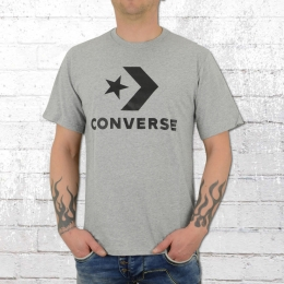 Converse Herren T-Shirt Star Chevron Tee grau