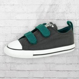 Converse Kinder Schuhe CTAS 2V Ox  grau grün