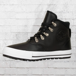 Converse Leder Schuhe 557916 C Ember Boot High schwarz weiss