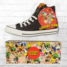 Converse Looney Tunes Chucks CT High Schuhe Unisex schwarz